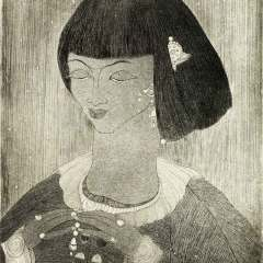 Chughtai's (almost hidden) sideline of excellence in etching