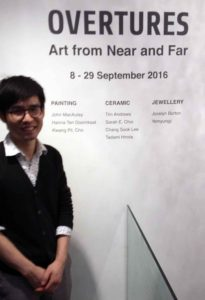 Yinjie Sun at the opening. Photo: AFIS