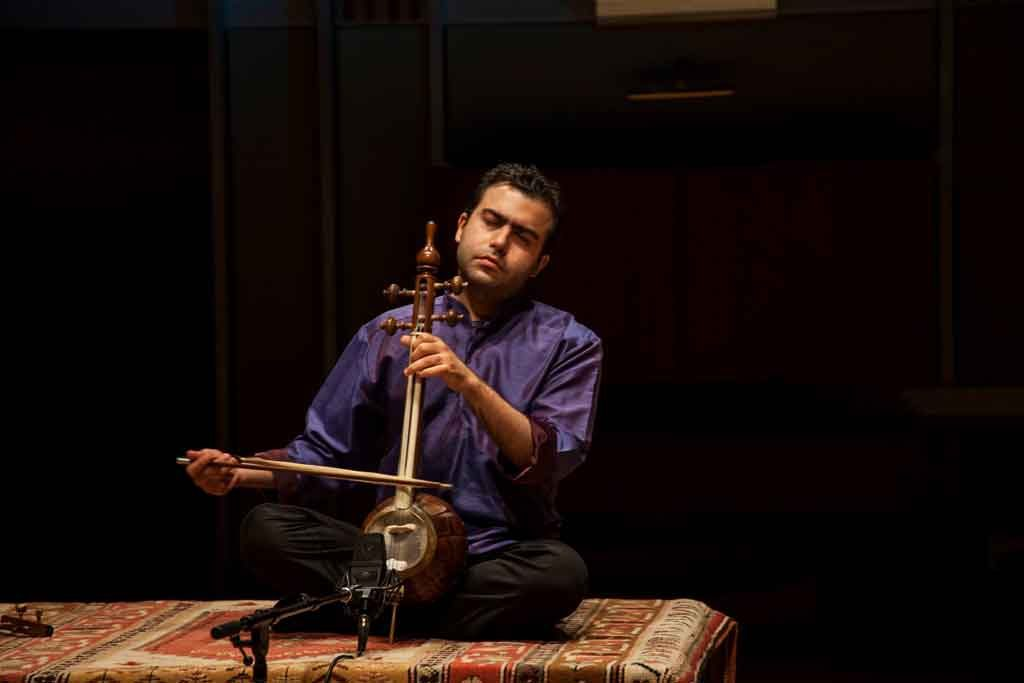 Adib Rostami in a recent performance